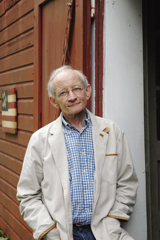 Ted Kooser will give his first reading at the Library of Congress today as the U.S. poet laureate. Photo by...