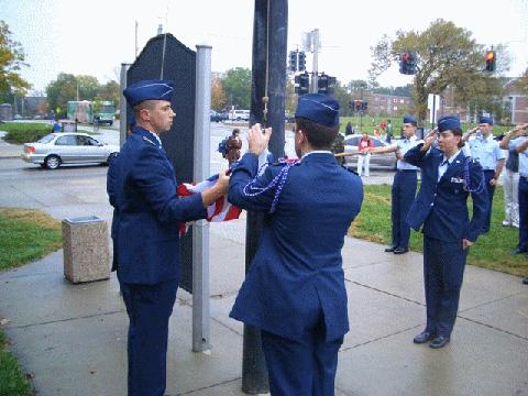 Photo courtesy of AROTC Cadet Public Affairs.