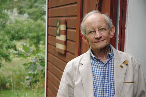 Professor and Poet Laureate Ted Kooser is the seventh UNL alum to win a Pulitzer. Photo by University Publications and...