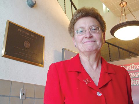 SERVICE AWARD - Minnie Stephens, a staff secretary with Animal Science, will be honored for 45 years of service to the...