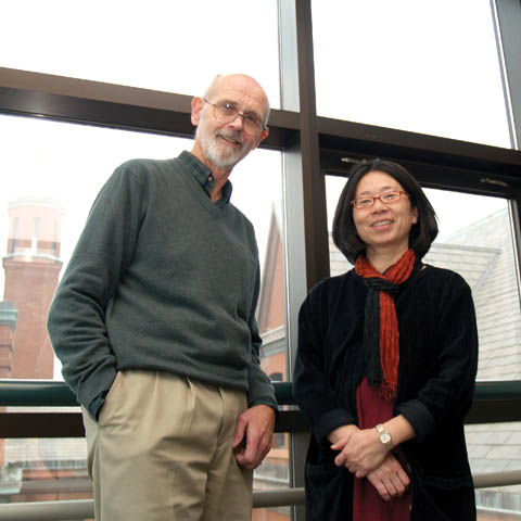 DATABASE CREATORS - Architecture professors James Potter and Rumiko Handa have created a course and online database linking elements of architecture...