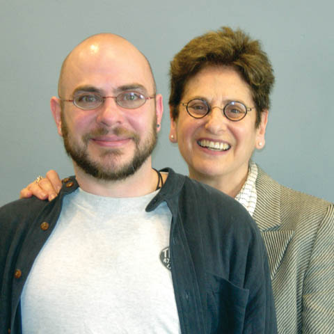 CO-AUTHORS - Aaron Raz Link and his mother, English professor Hilda Raz, are co-authors of the book