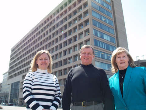 RECENT MOVE - UNL's Employee Assistance Program moved into the Wells Fargo Building, 1248 O St., on April 1. Pictured in...